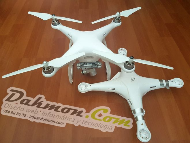 Sustitución de chasis DJI Phantom 3 Advanced