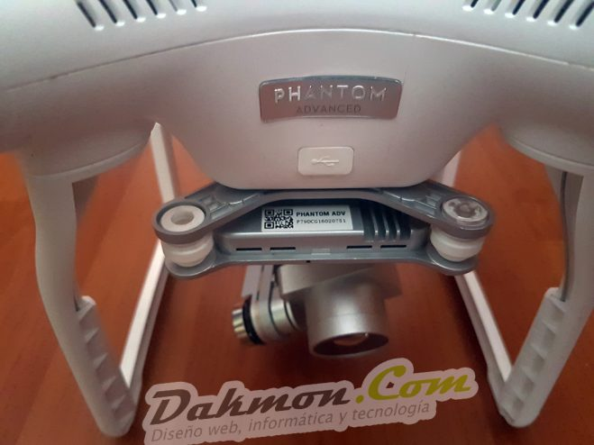 Reparación gimbal DJI Phantom 3 Advanced