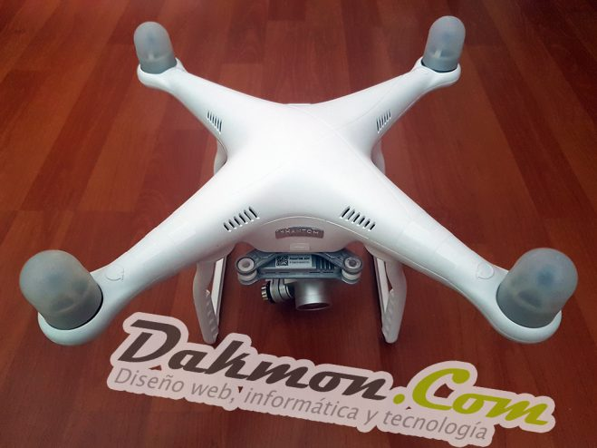 Cambio de chasis DJI Phantom 3 Advanced
